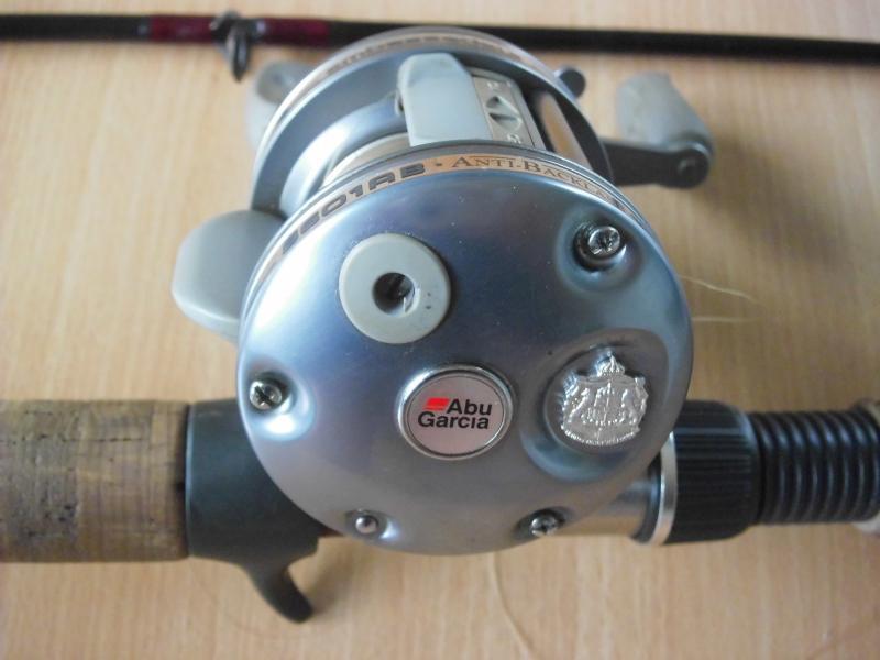 Fiskestang m. ABU multihjul