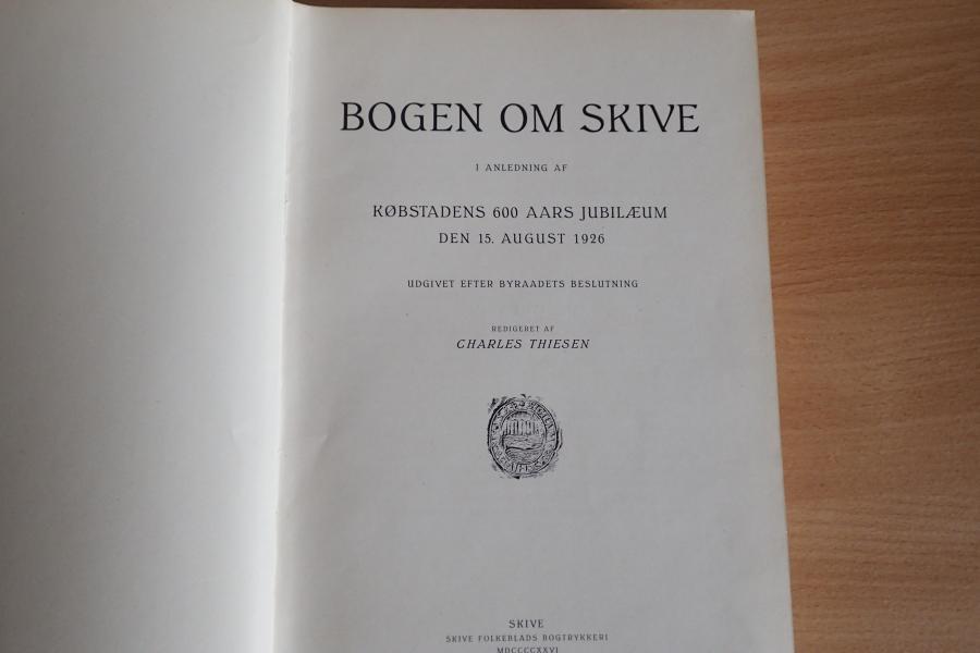 Bogen om skive