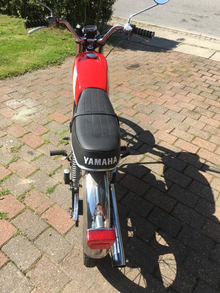 Yamaha veteran knallert