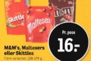 M&M's, Maltesers eller Skittles