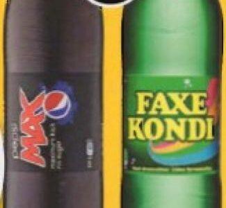 Pepsi Max eller Faxe Kondi