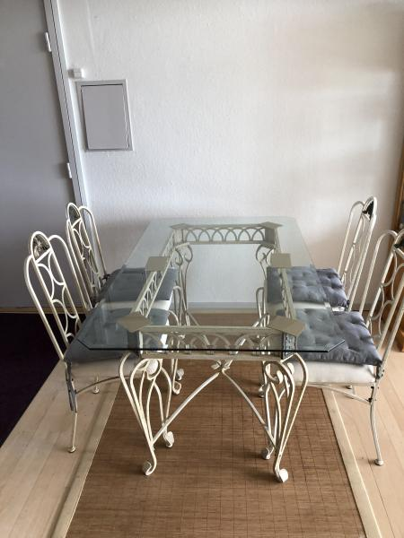 Romantisk bord i Smedejern
