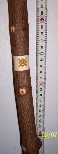 VandreStav 138 cm.