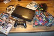 PS3 med spil.