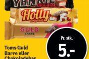 Toms Guld Barre eller Chokoladebar