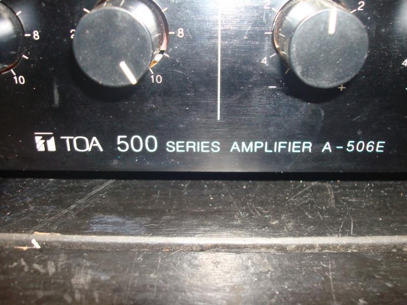 Mixeramp. + ht-kabinetter