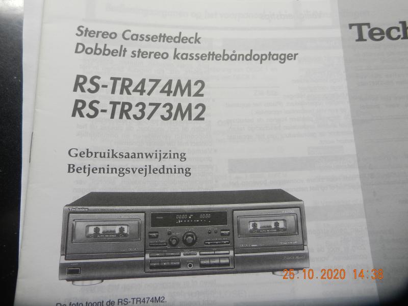 Technics musik-anlæg.