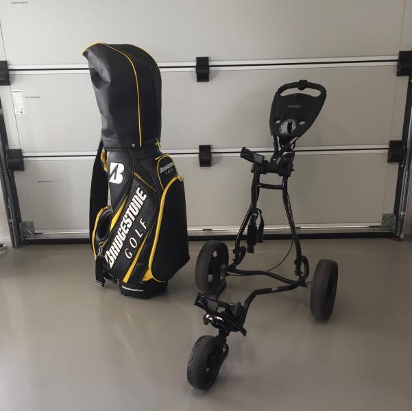 Komplet golfsæt