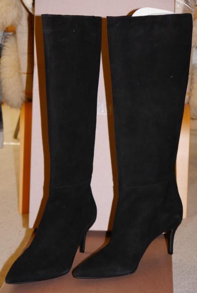 Smukke høje ruskindsstøvler