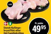 Dansk Kyllingebrystfilet eller Hel Familiekylling