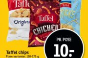 Taffel chips