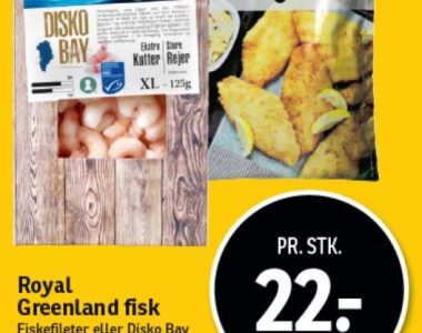 Royal Greenland fisk
