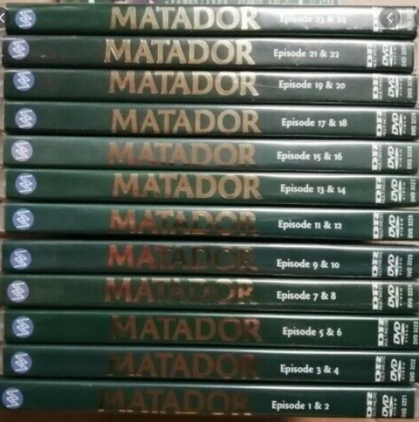 Matador-serien dvd