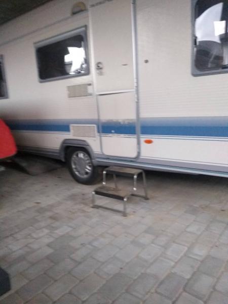 Opbevaring af campingvogn