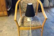 Holmegård lampe og stol