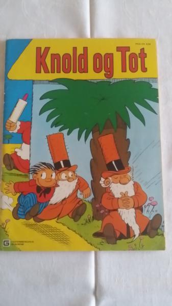 Knold og Tot Årshæfte 1977