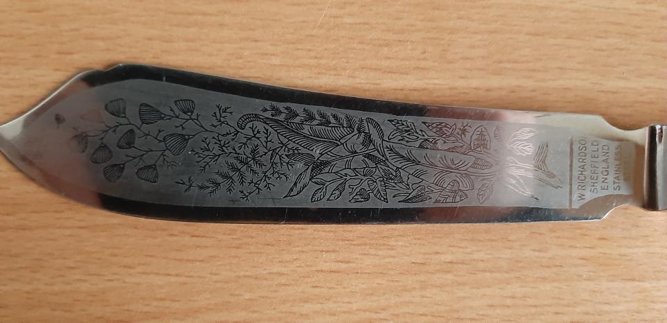 2 Engelske Lagkage knive