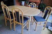 Spisebord m/6 stole