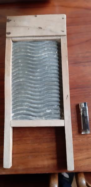 Lille bitte Antik vaskebræt