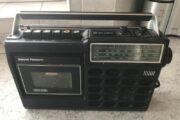 Retro radio m/båndafspiller