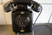 Gammel Siemens telefon