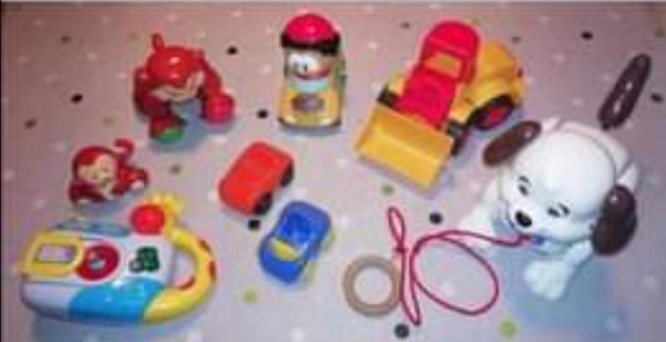 Samlet legetøjspakke