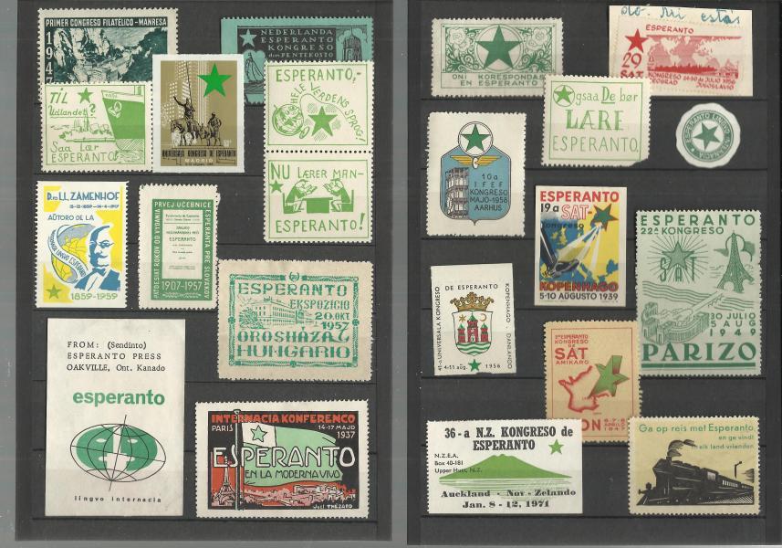 Esperanto frimærker