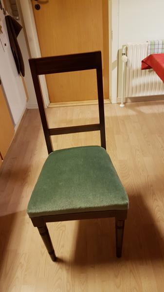 90 år gamle spisestue stole