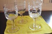 Gamle erindringsglas, slebet