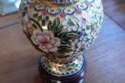 smuk Cloisonné vase