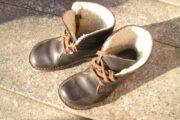 brune læderstøvler