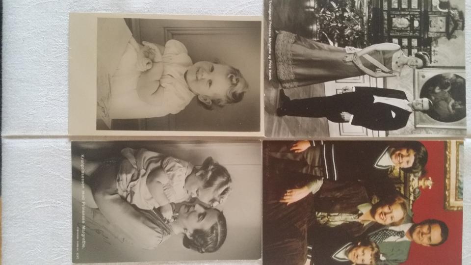 14 Postkort Margrethe 1942