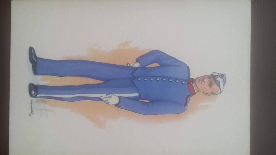 8 gl. postkort 1950-51. unif.