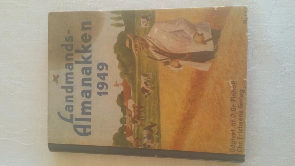 Landmands-Almanakken 1949 75kr