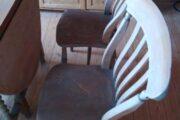 Engelsk gateleg bord + stole