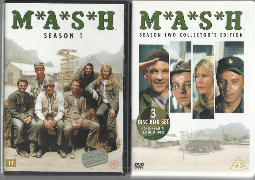 M.A.S.H. gammel TV-serie på