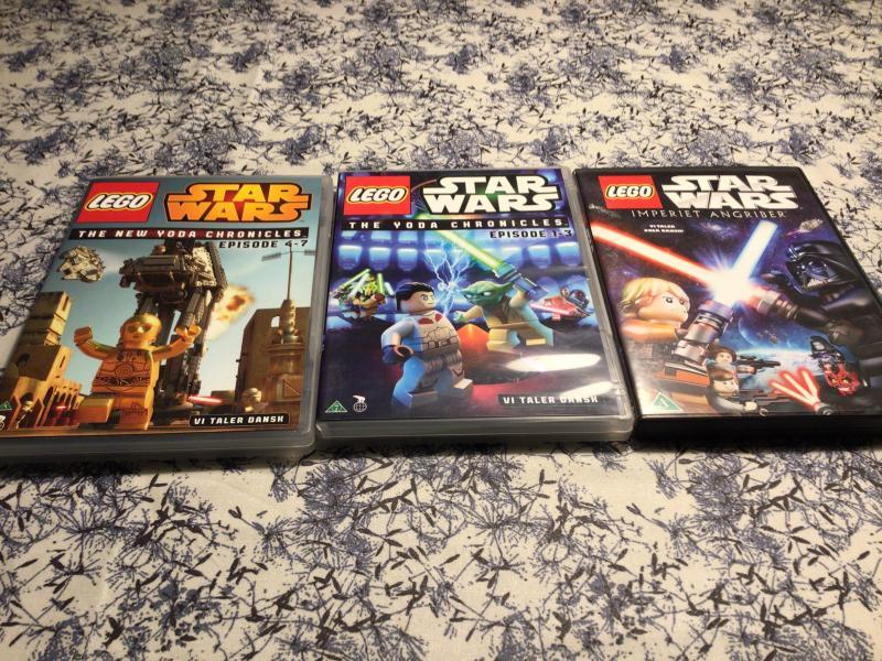 Lego star Wars dvd film