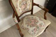 Flot antik stol.