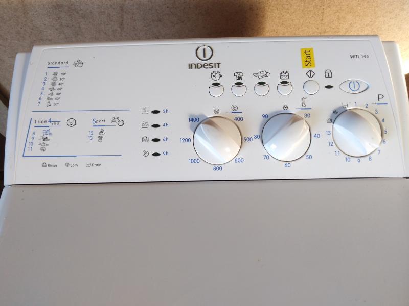 INDESIT vaskemaskine