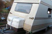 Campingvogn til reservedele