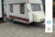 Campingvogn nysynet sælges