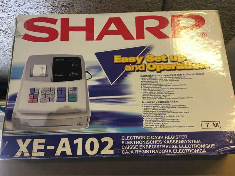 SHARP kasseapparat