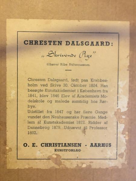"""Chresten Dalsgaard """"maleri"""""""