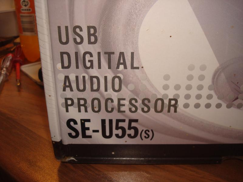 Usb digital lydkort