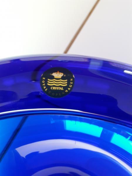 Blå bordskål
