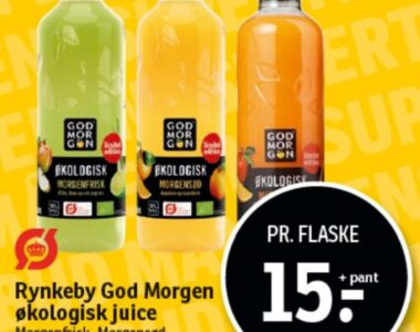 Rynkeby God Morgen øko juice