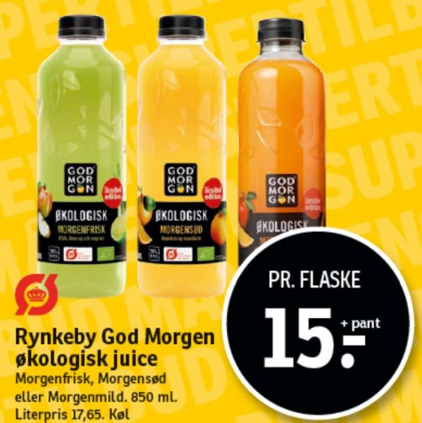 Rynkeby God Morgen øko juice