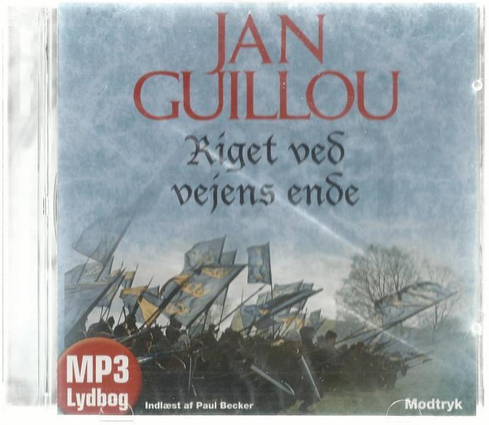 Jan Guillou Lydbøger 3 stk