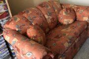 Sofabord og sovesofa