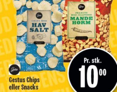 Gestus Chips eller Snacks